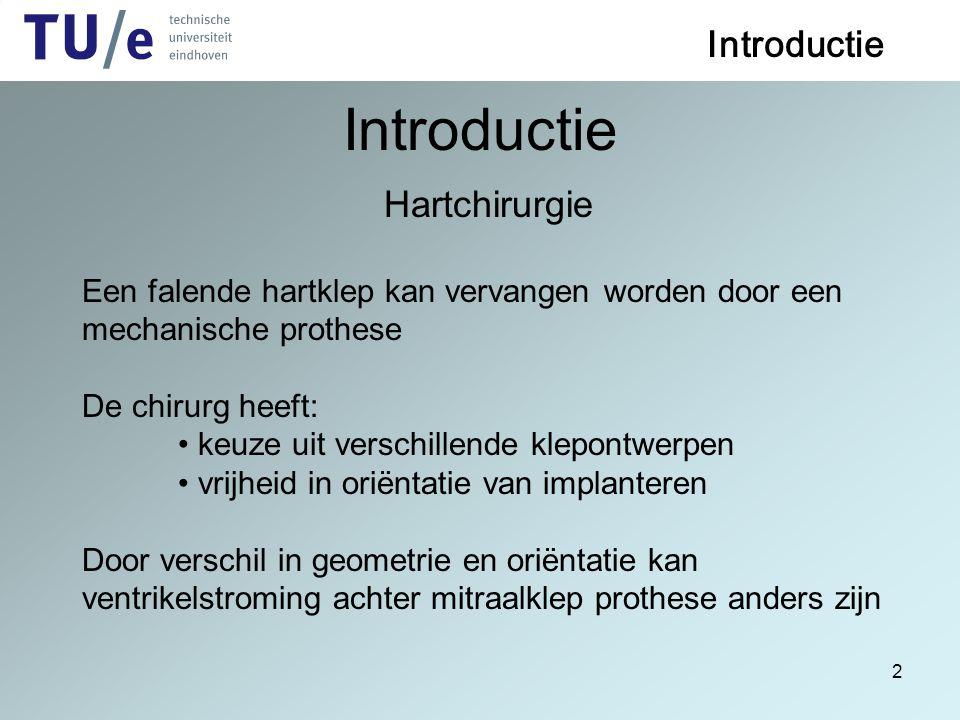 Introductie Introductie Hartchirurgie