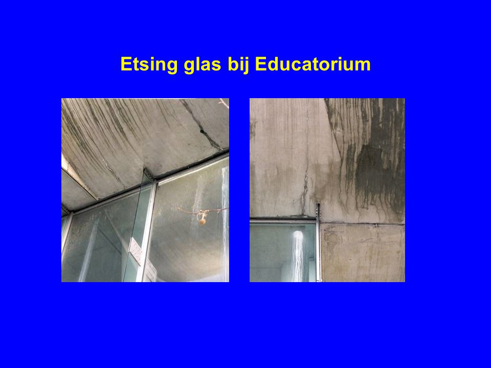 Etsing glas bij Educatorium