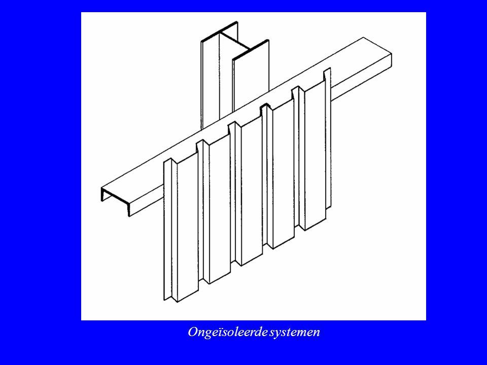 Ongeïsoleerde systemen