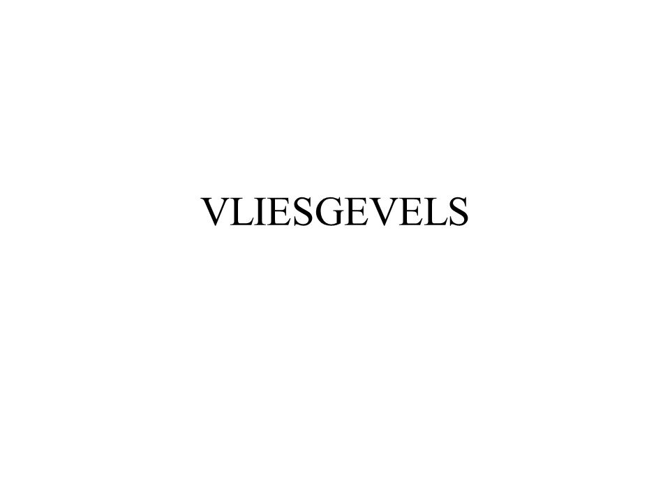 VLIESGEVELS