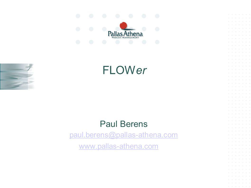 Paul Berens paul.berens@pallas-athena.com www.pallas-athena.com