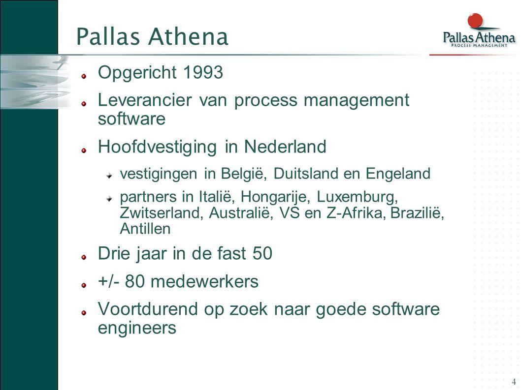 Pallas Athena Opgericht 1993