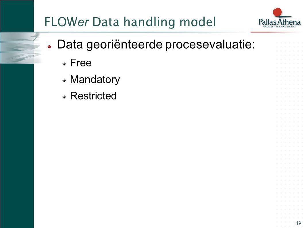 FLOWer Data handling model