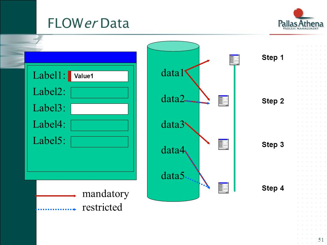 FLOWer Data data1 data2 Label1: data3 Label2: data4 Label3: data5