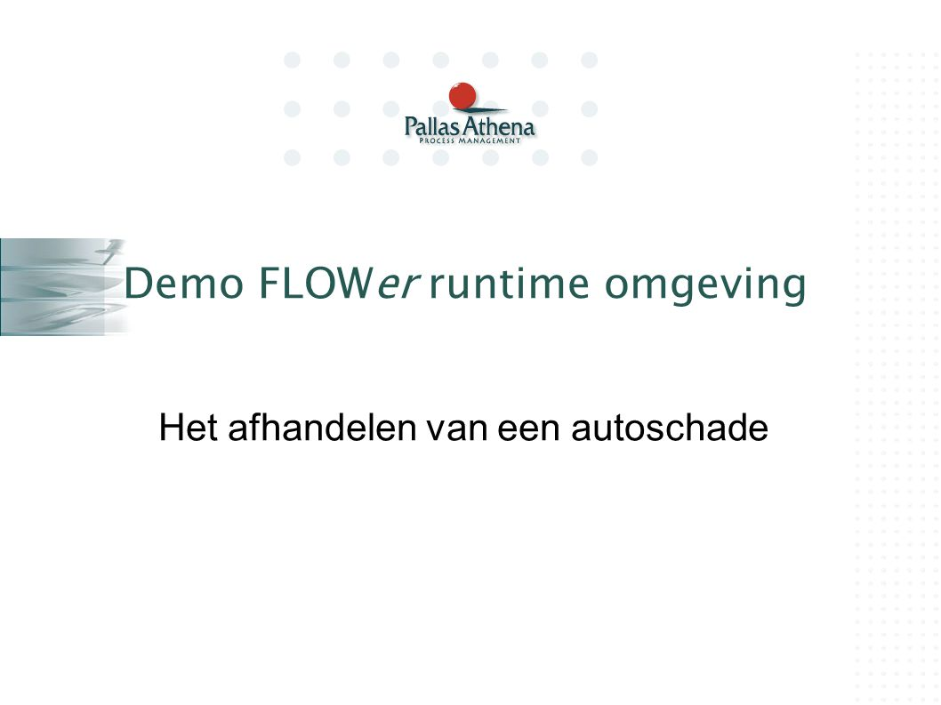 Demo FLOWer runtime omgeving