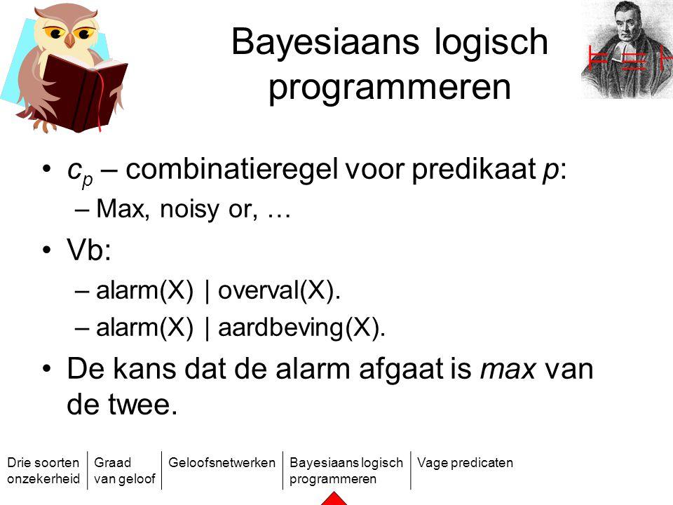 Bayesiaans logisch programmeren
