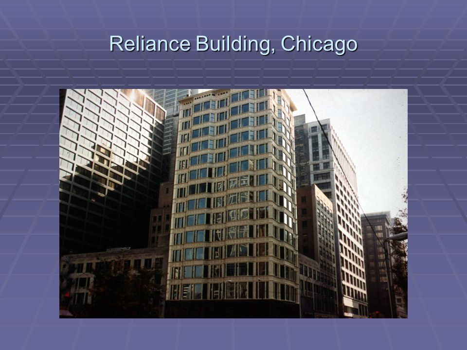 Reliance Building, Chicago