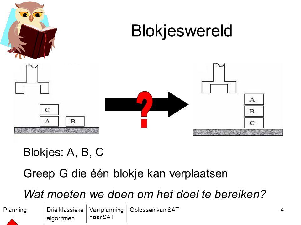 Blokjeswereld Blokjes: A, B, C