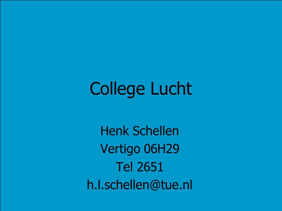 Henk Schellen Vertigo 06H29 Tel 2651 h.l.schellen@tue.nl