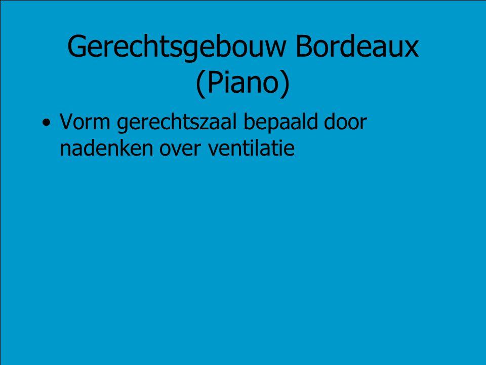 Gerechtsgebouw Bordeaux (Piano)