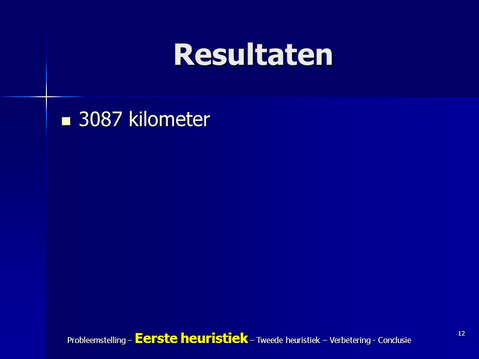 Resultaten 3087 kilometer. Tussenpresentatie Modelleren C – IJspakketten. Annette Ficker en Tim Oosterwijk.
