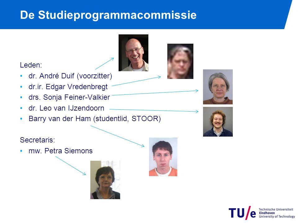 De Studieprogrammacommissie