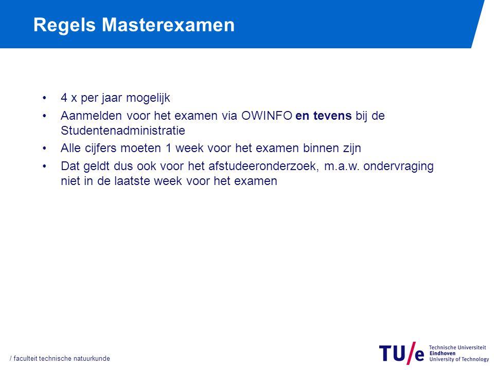 Onderwijs en ExamenRegeling (OER)