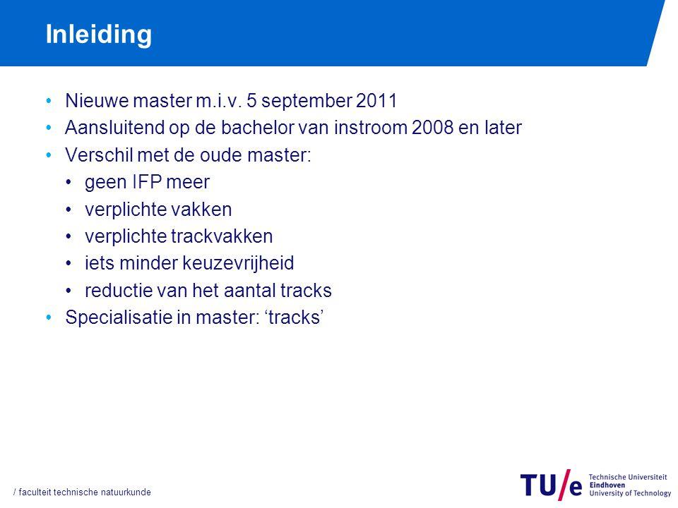 Specialisatierichtingen (tracks)
