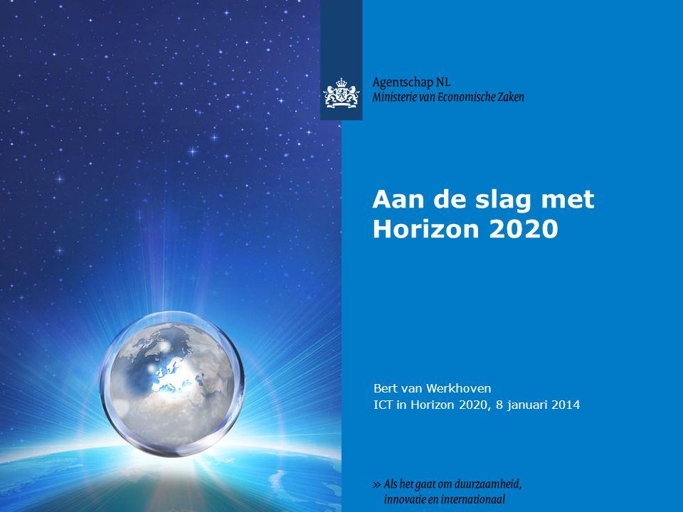 Bert van Werkhoven ICT in Horizon 2020, 8 januari 2014