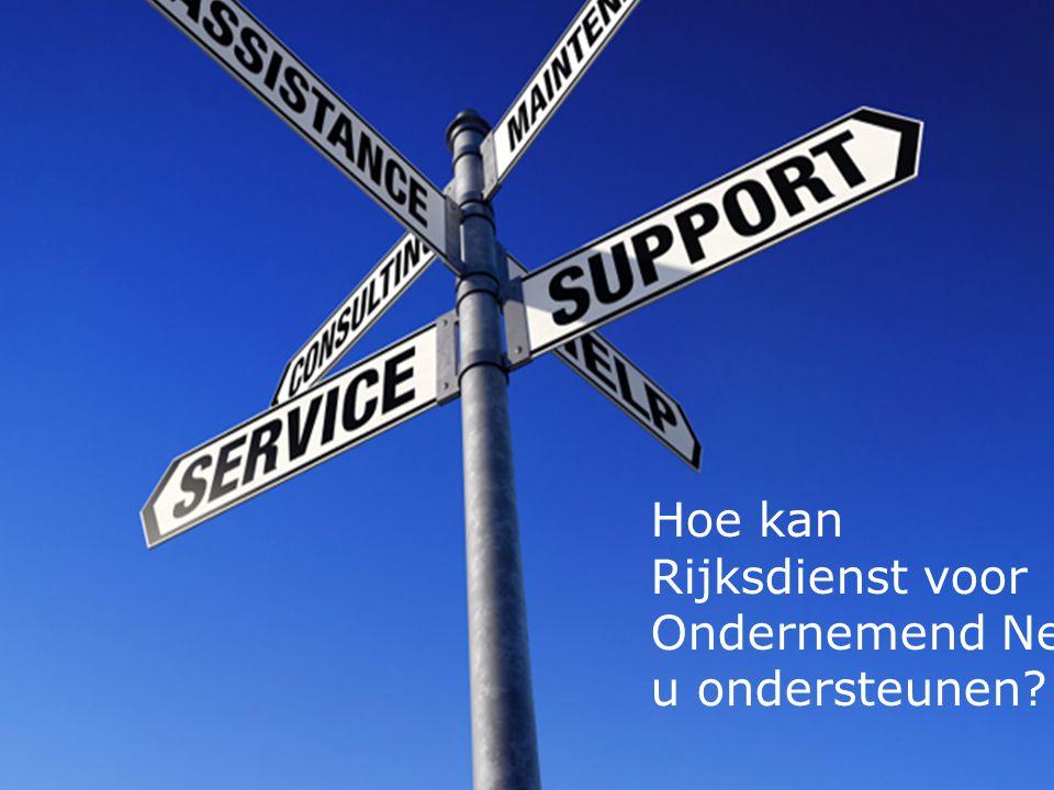 Hoe kan Rijksdienst voor Ondernemend Nederland u ondersteunen