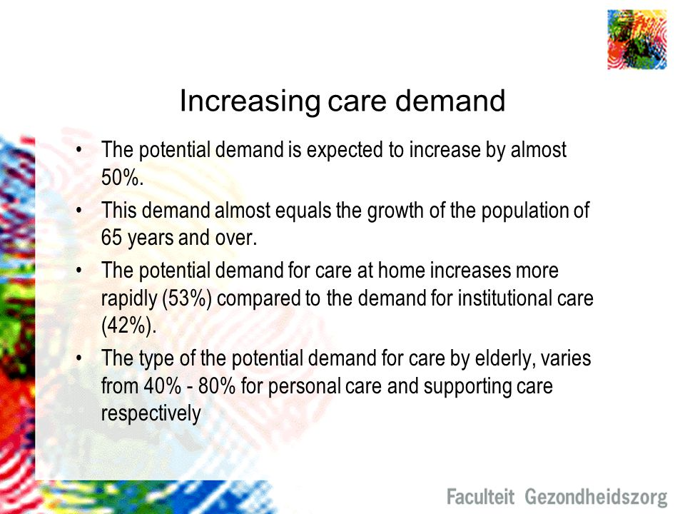 Increasing care demand