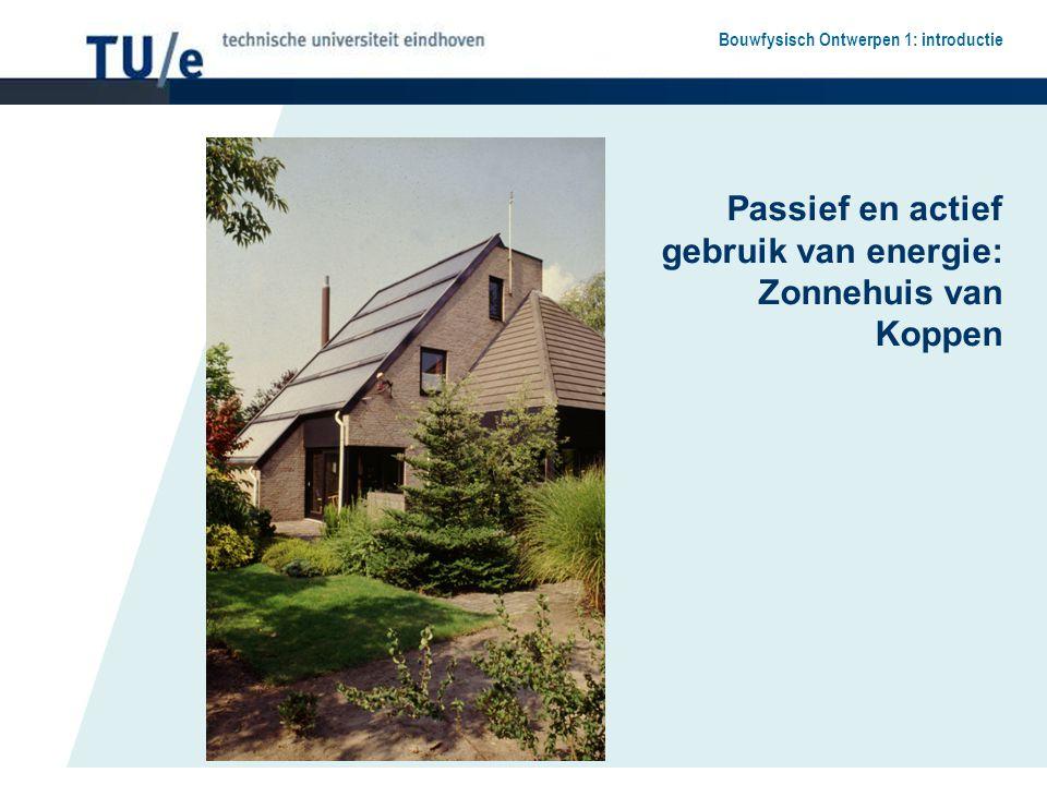 Passief en actief gebruik van energie: Zonnehuis van Koppen