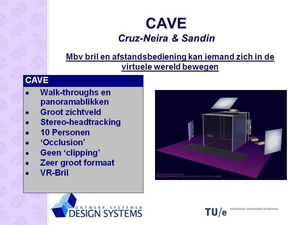 CAVE Cruz-Neira & Sandin