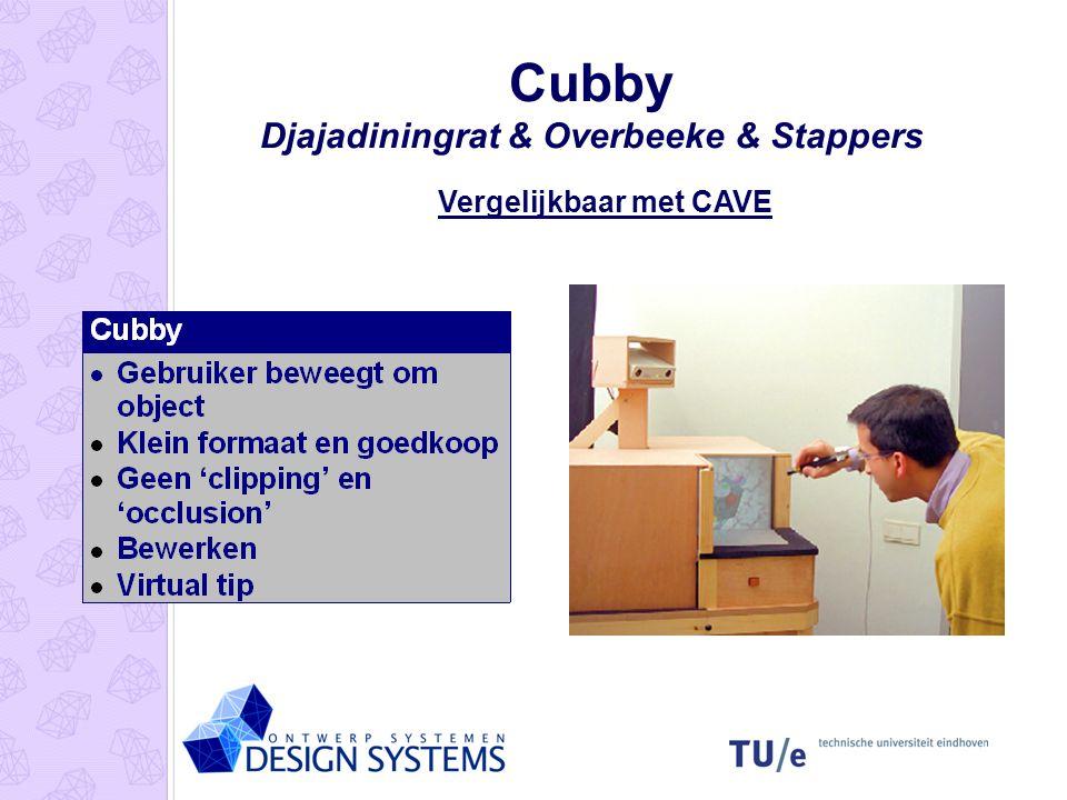 Cubby Djajadiningrat & Overbeeke & Stappers