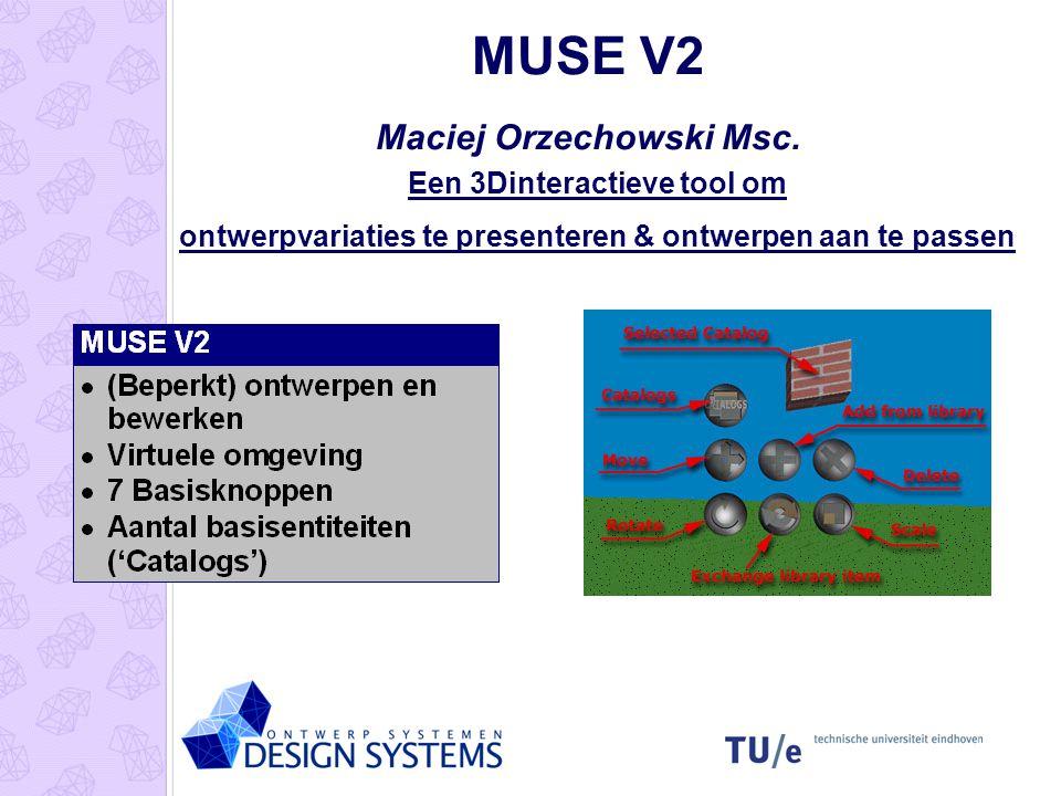 MUSE V2 Maciej Orzechowski Msc.