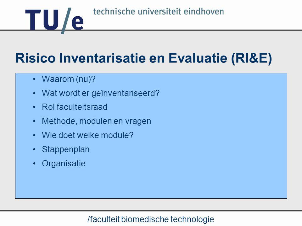 Risico Inventarisatie en Evaluatie (RI&E)