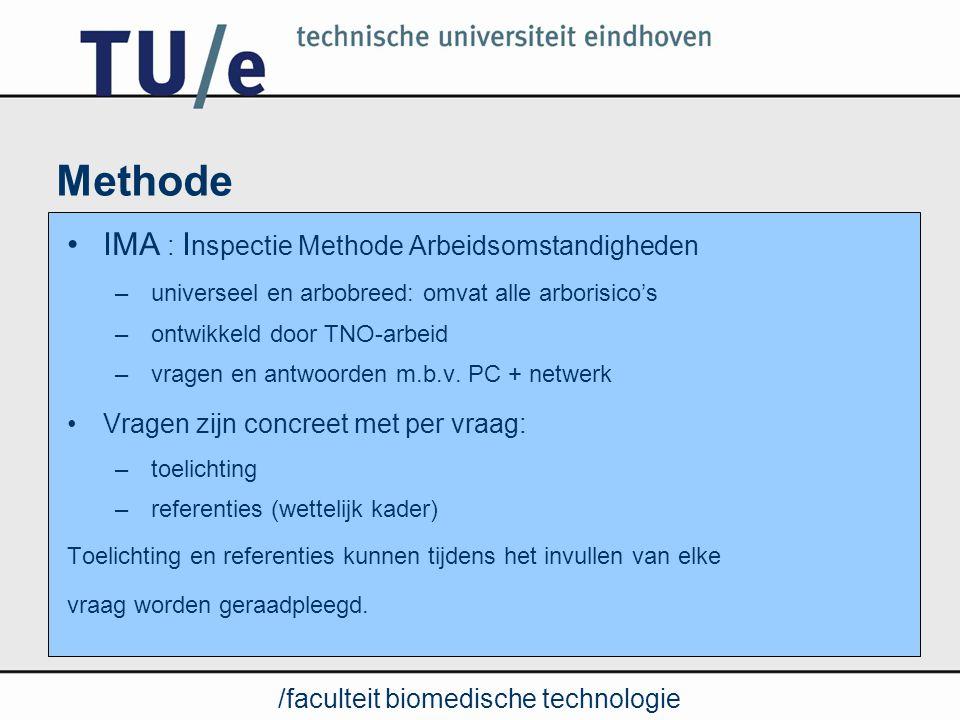 Methode IMA : Inspectie Methode Arbeidsomstandigheden