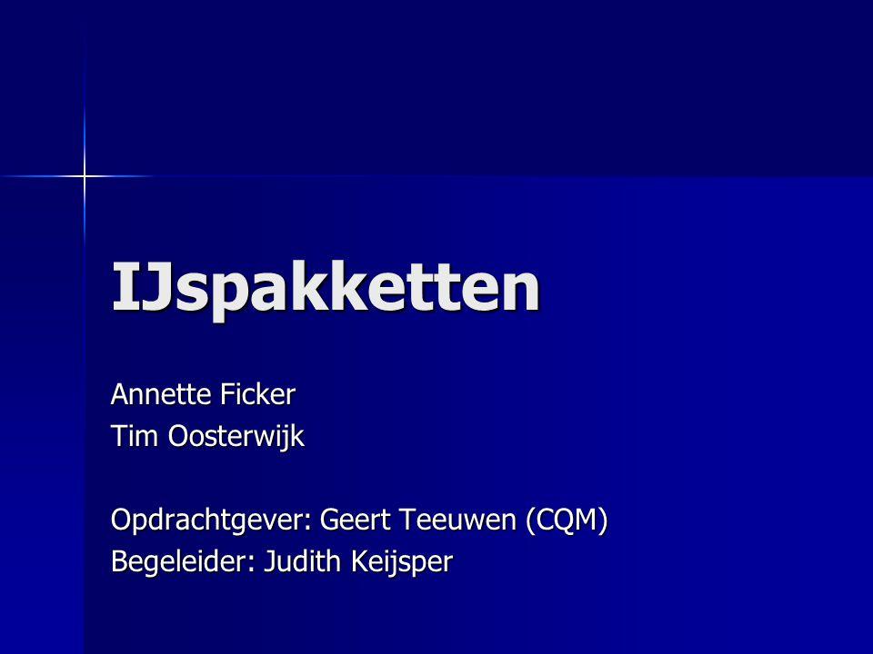IJspakketten Annette Ficker Tim Oosterwijk