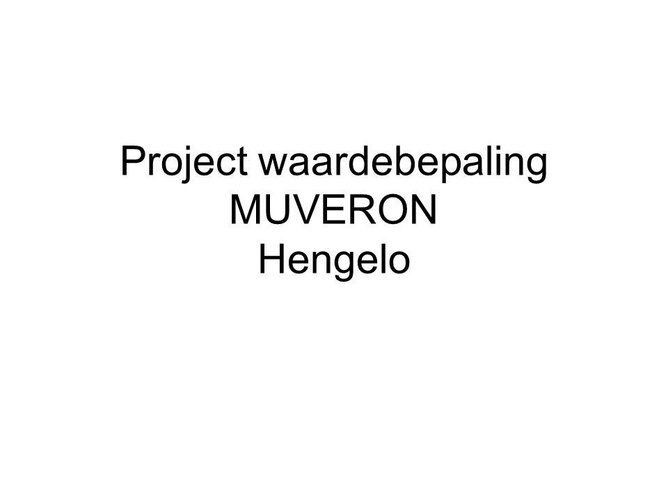 Project waardebepaling MUVERON Hengelo