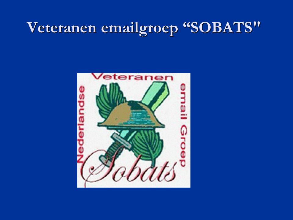 Veteranen emailgroep SOBATS