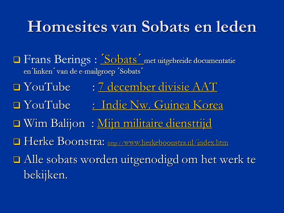 Homesites van Sobats en leden