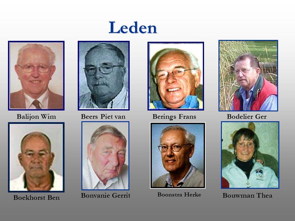 Leden Balijon Wim Beers Piet van Berings Frans Bodelier Ger