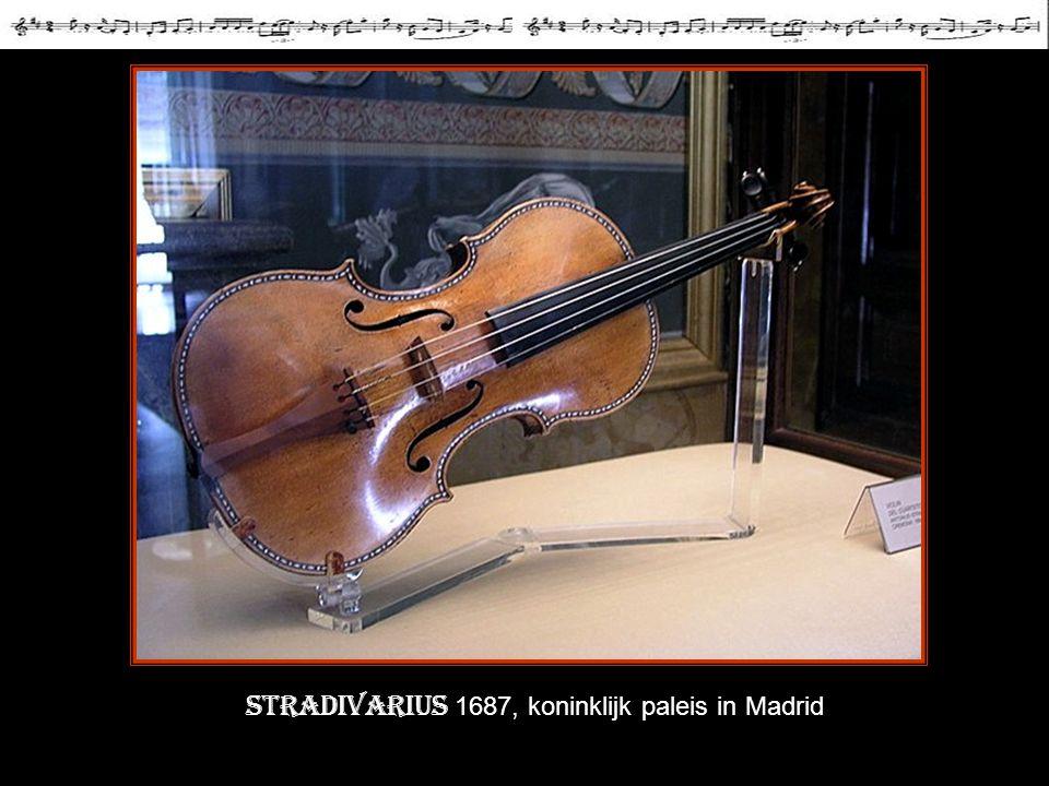 Stradivarius 1687, koninklijk paleis in Madrid