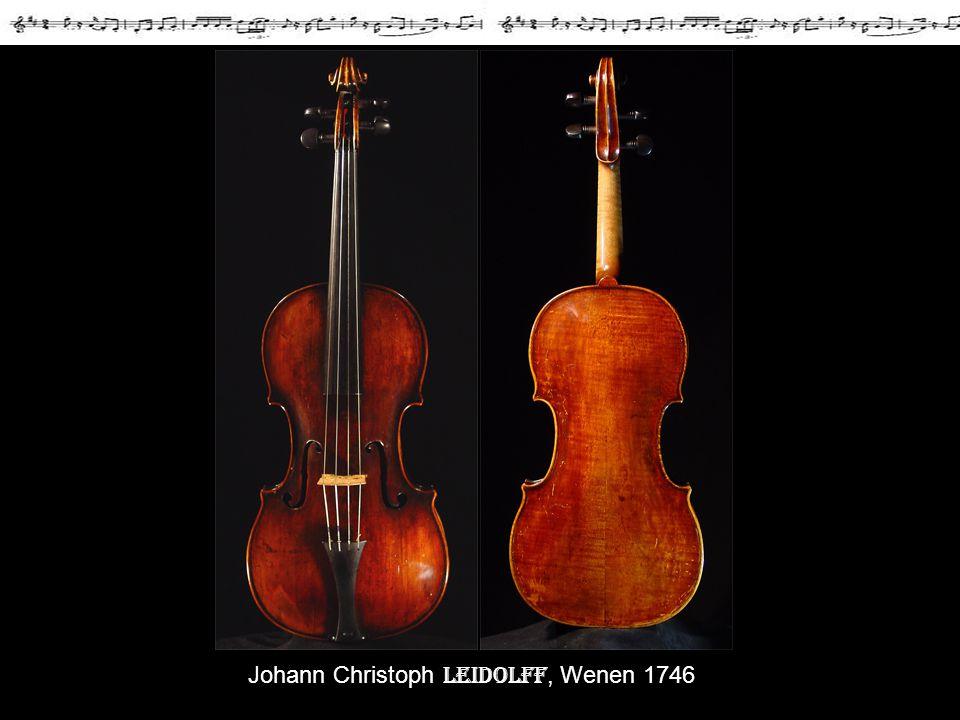 Johann Christoph Leidolff, Wenen 1746