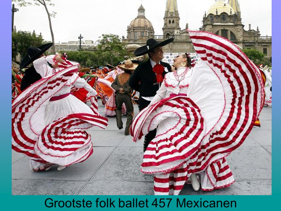 Grootste folk ballet 457 Mexicanen