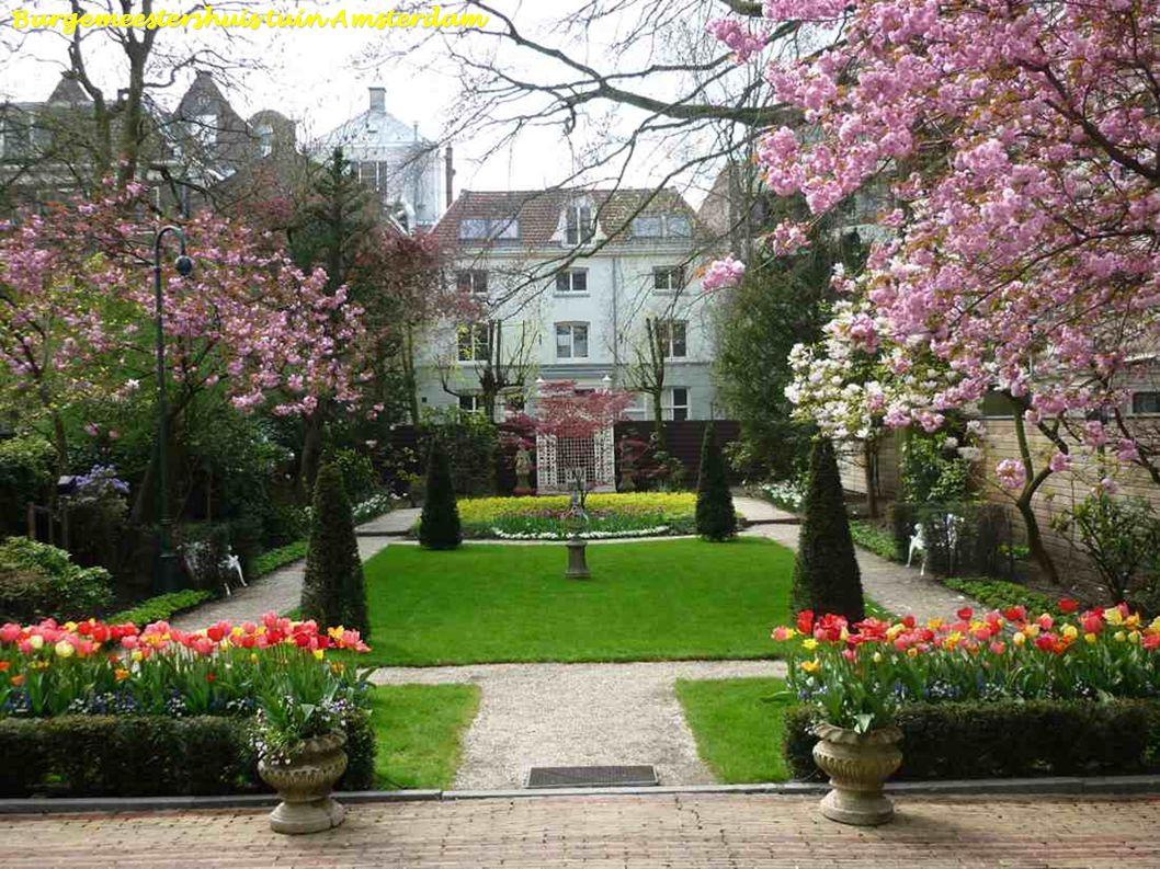 Burgemeestershuis tuin Amsterdam