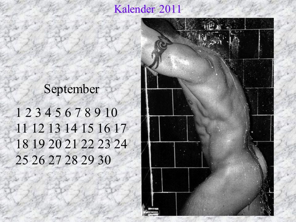 Kalender 2011 September.