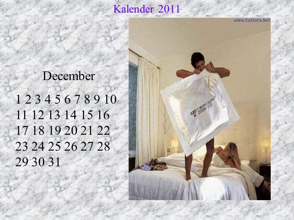 Kalender 2011 December.