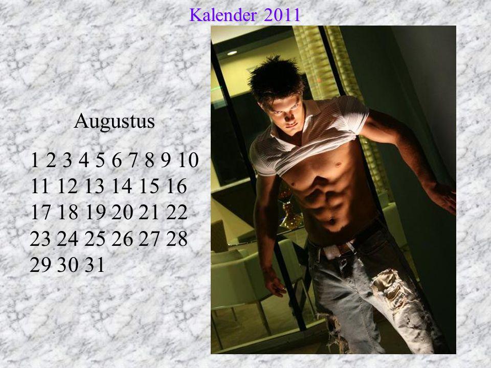 Kalender 2011 Augustus.
