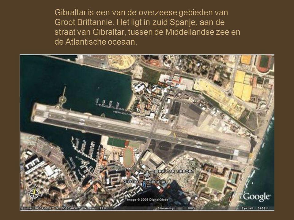 Gibraltar is een van de overzeese gebieden van Groot Brittannie