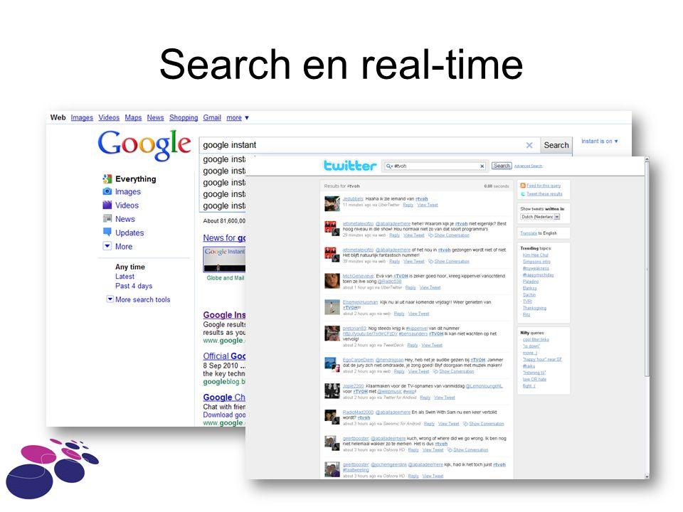 Search en real-time