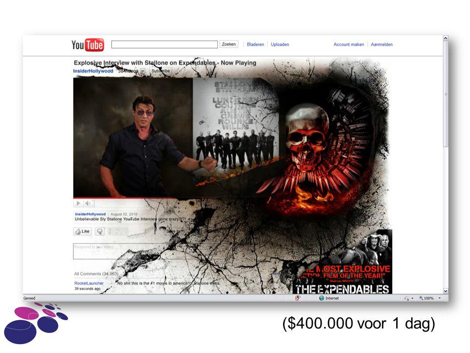 ($400.000 voor 1 dag)