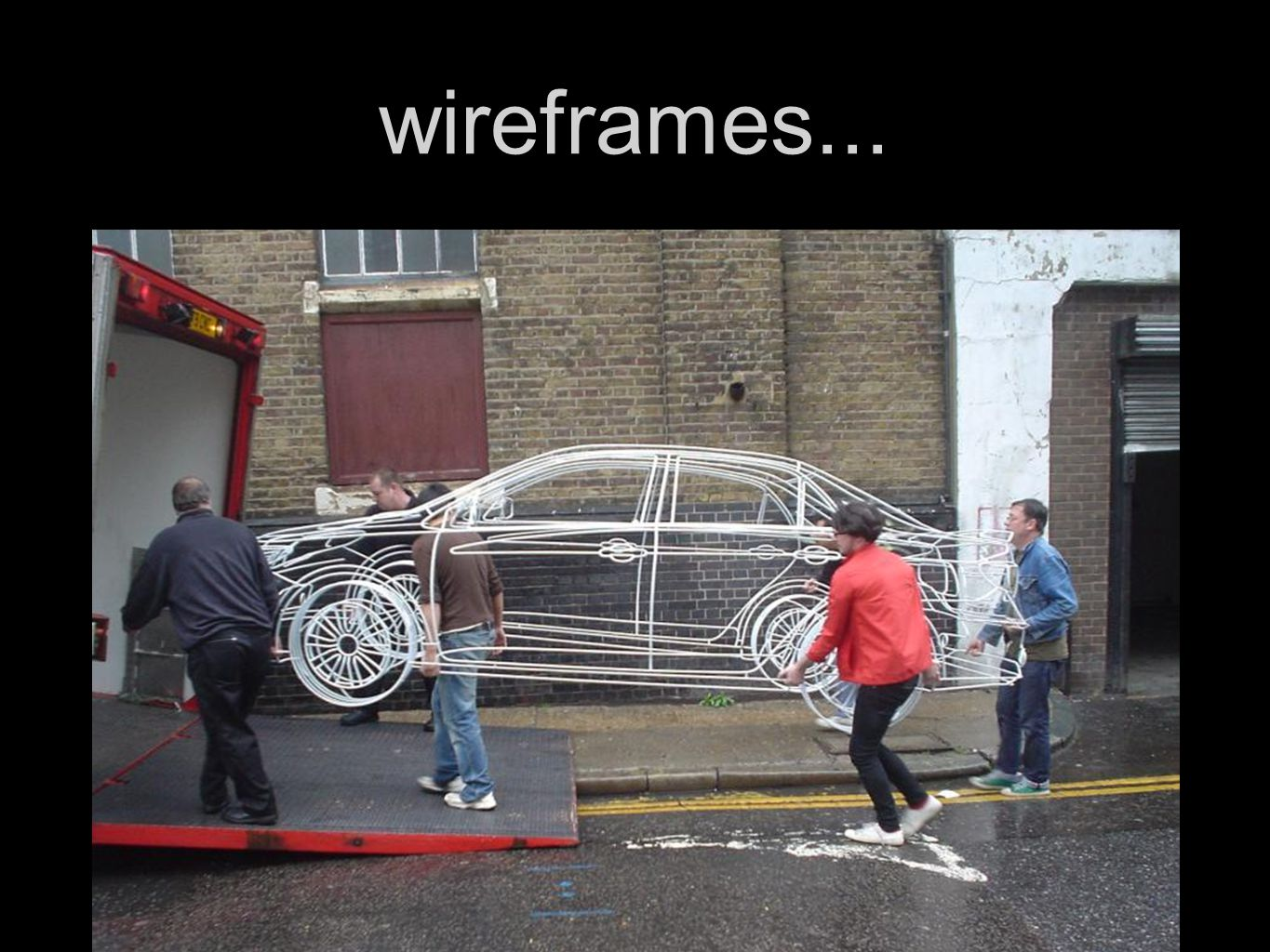 wireframes...