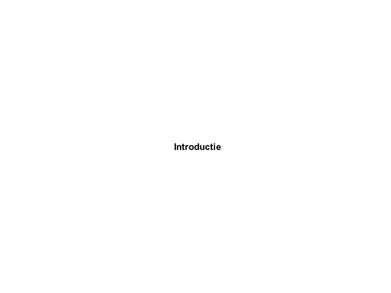 Introductie Specificatiefase Iteratief proces Gezamenlijk proces