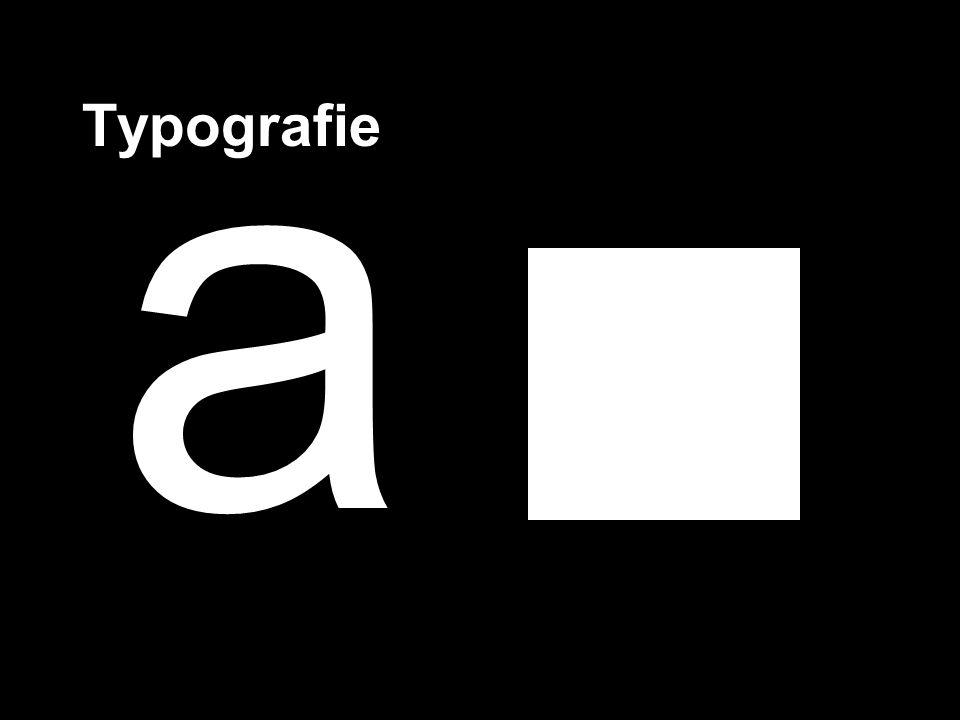 a Typografie