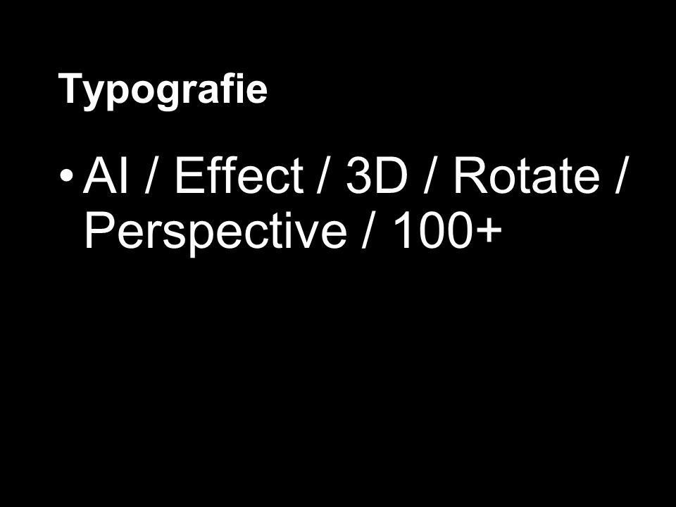 AI / Effect / 3D / Rotate / Perspective / 100+