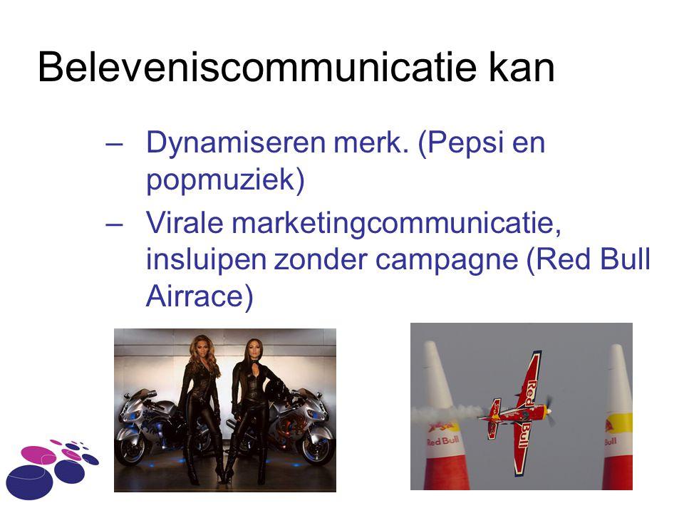 Beleveniscommunicatie kan