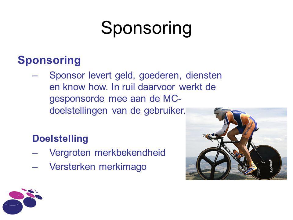 Sponsoring Sponsoring