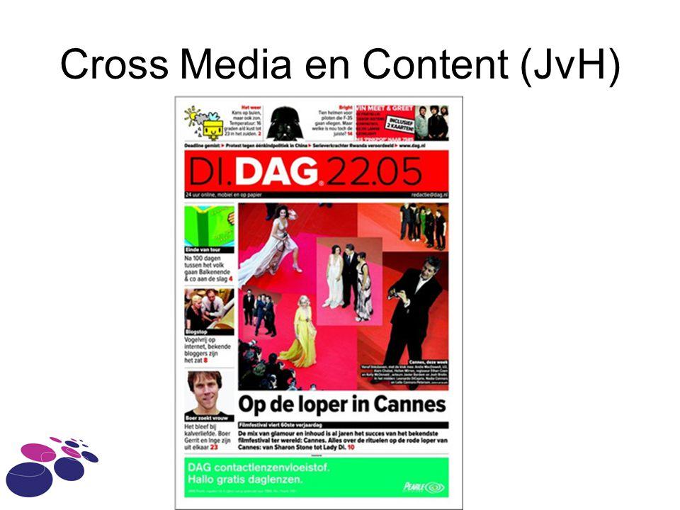 Cross Media en Content (JvH)