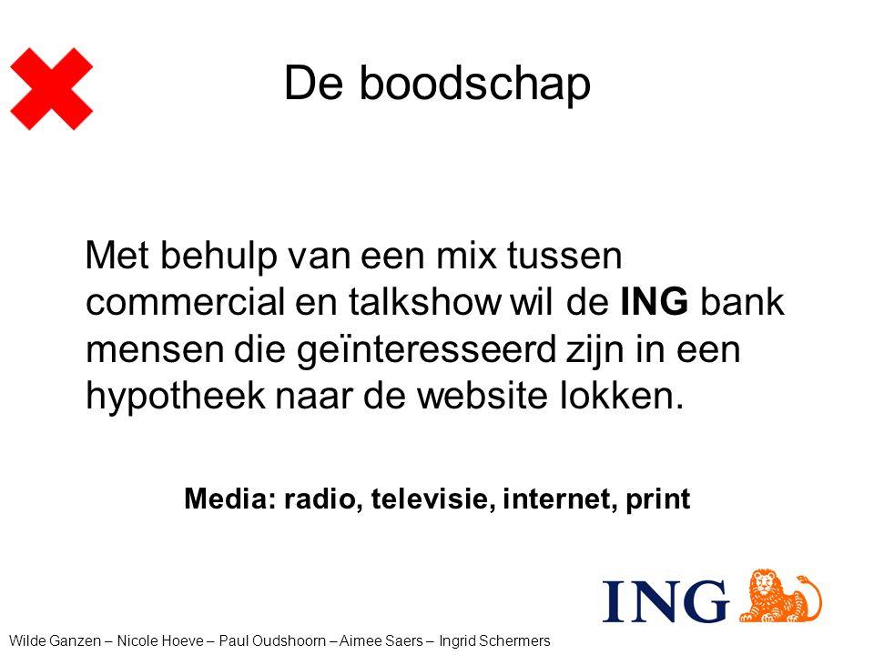 Media: radio, televisie, internet, print